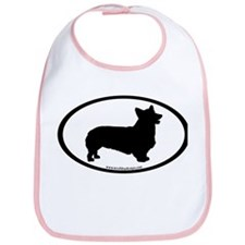 Welsh Corgi Oval Bib