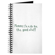 Mommy Feeds Me Journal