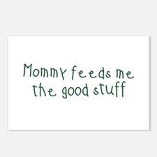 Mommy Feeds Me Postcards (Package of 8)