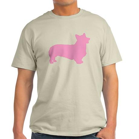 Pink Pembroke Welsh Corgi Light T-Shirt
