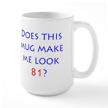 Look 81 Large Mug