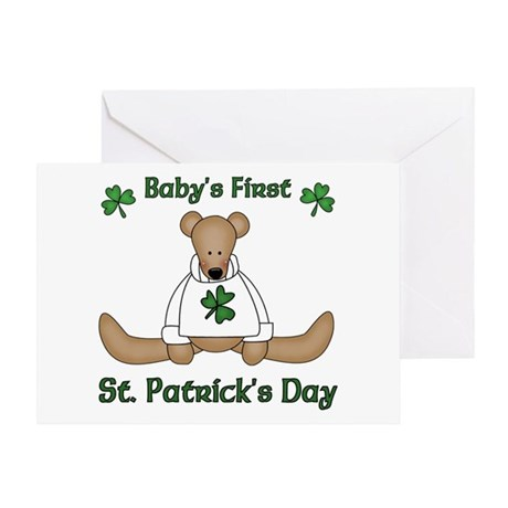 Baby's First St. Patrick's day Greeting Card