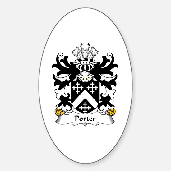Porter (of Aberconwy) Oval Decal