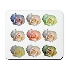 Nine Colored Roses Mousepad