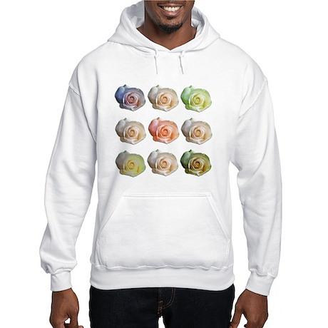 Nine Colored Roses Hooded Sweatshirt