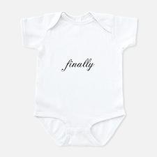 Finally Infant Bodysuit