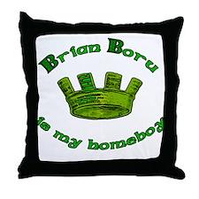 Brian Boru is My Homeboy Throw Pillow