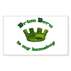 Brian Boru is My Homeboy Rectangle Decal