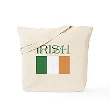 irish Flag St. Patty's Day Tote Bag