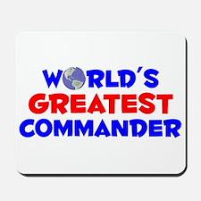 World's Greatest Comma.. (A) Mousepad