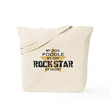 Poodle RockStar bty Nught Tote Bag