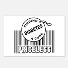 DIABETES FINDING A CURE Postcards (Package of 8)