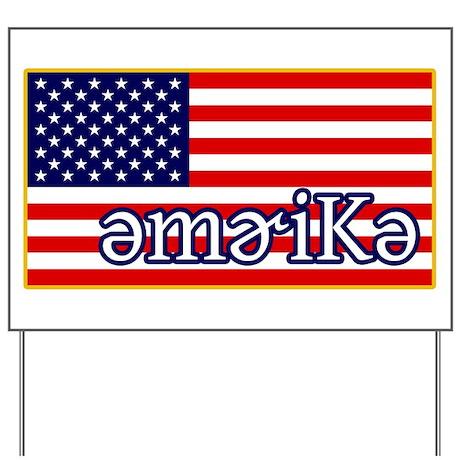 Phonetics America Yard Sign