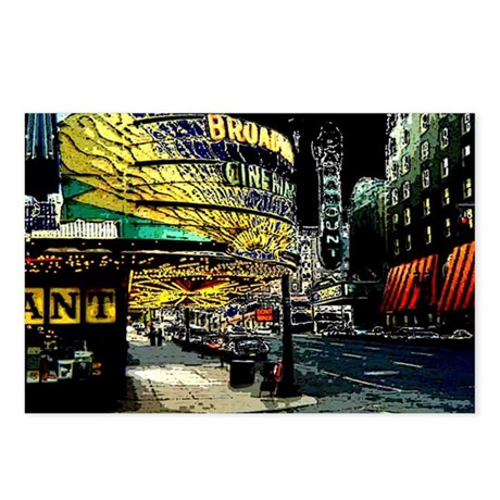 Broadway - Postcards (Package of 8)