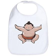Japan Sumo Wrestler Bib