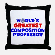 World's Greatest Compo.. (A) Throw Pillow