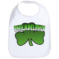 Philadelphia Shamrock Bib