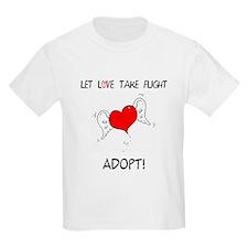 LoveTakeFlightWhiteLOGO T-Shirt