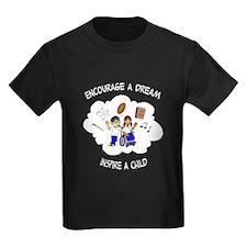 Encourage A Dream LOGO Multicolor T-Shirt
