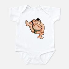 Sumo Wrestler Infant Creeper