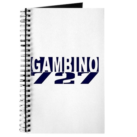 GAMBINO 727 Journal