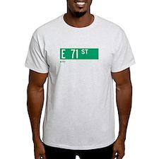 71st Street in NY T-Shirt
