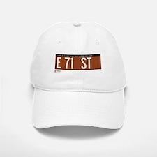 71st Street in NY Baseball Baseball Cap