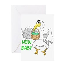 New Baby Boy or Girl Greeting Card