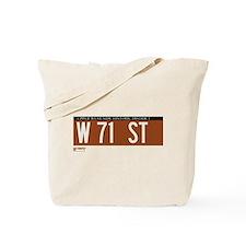71st Street in NY Tote Bag
