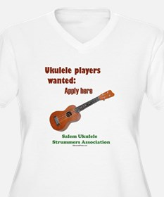 Ukulele players wanted - appl T-Shirt