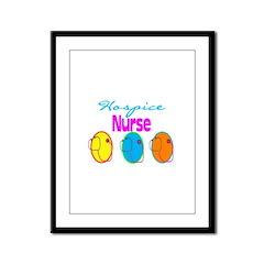 Hospice Nurse Framed Panel Print