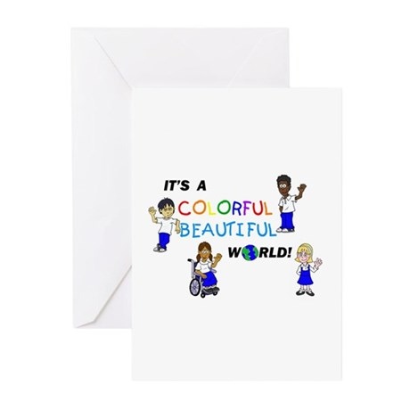 BWTlogo Full Cast Multi Color Greeting Cards