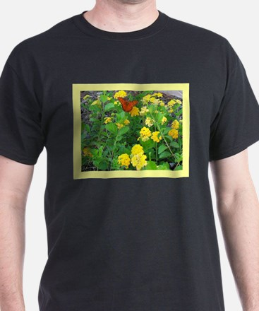 Butterfly Bush with Butterfly T-Shirt