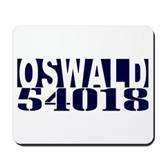 OSWALD 54018 Mousepad