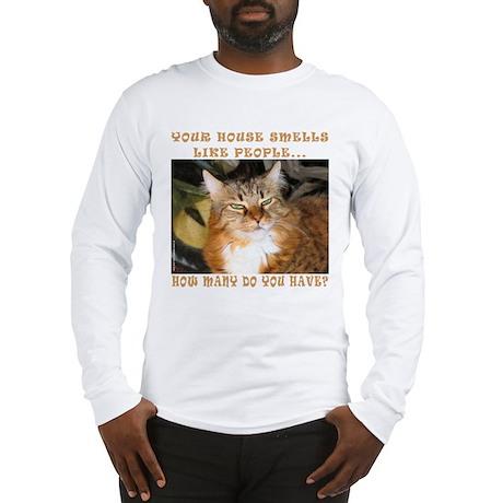 Funny Cat Long Sleeve T-Shirt