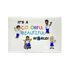 Funny Foster kids Rectangle Magnet (10 pack)