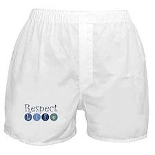 Respect Life Boxer Shorts