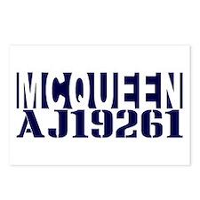 McQUEEN AJ19261 Postcards (Package of 8)