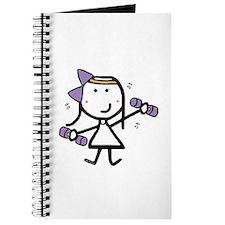 Girl & Exercise Journal