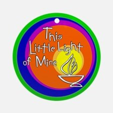 """This Little Light of Mine"" Ornament"