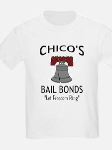 Chico's Bail Bonds Kids T-Shirt