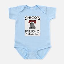 Chico's Bail Bonds Infant Creeper