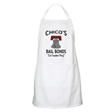 Chico's Bail Bonds BBQ Apron