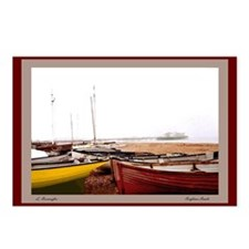 Brighton Beach Boats Postcards (Package of 8)