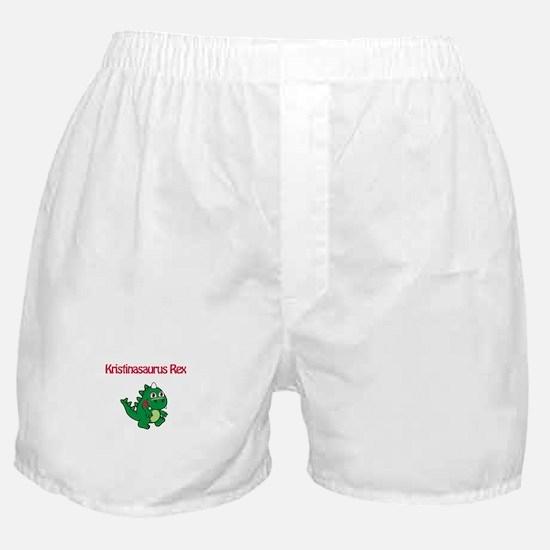 Kristinaosaurus Rex Boxer Shorts