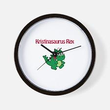 Kristinaosaurus Rex Wall Clock