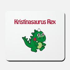 Kristinaosaurus Rex Mousepad