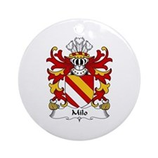 Milo (FITZWALTER-Earl of Hereford) Ornament (Round