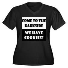 Come to the Darkside, Cookies Women's Plus Size V-