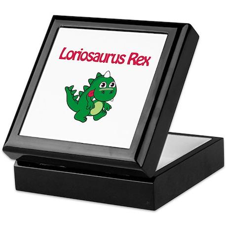Loriosaurus Rex Keepsake Box